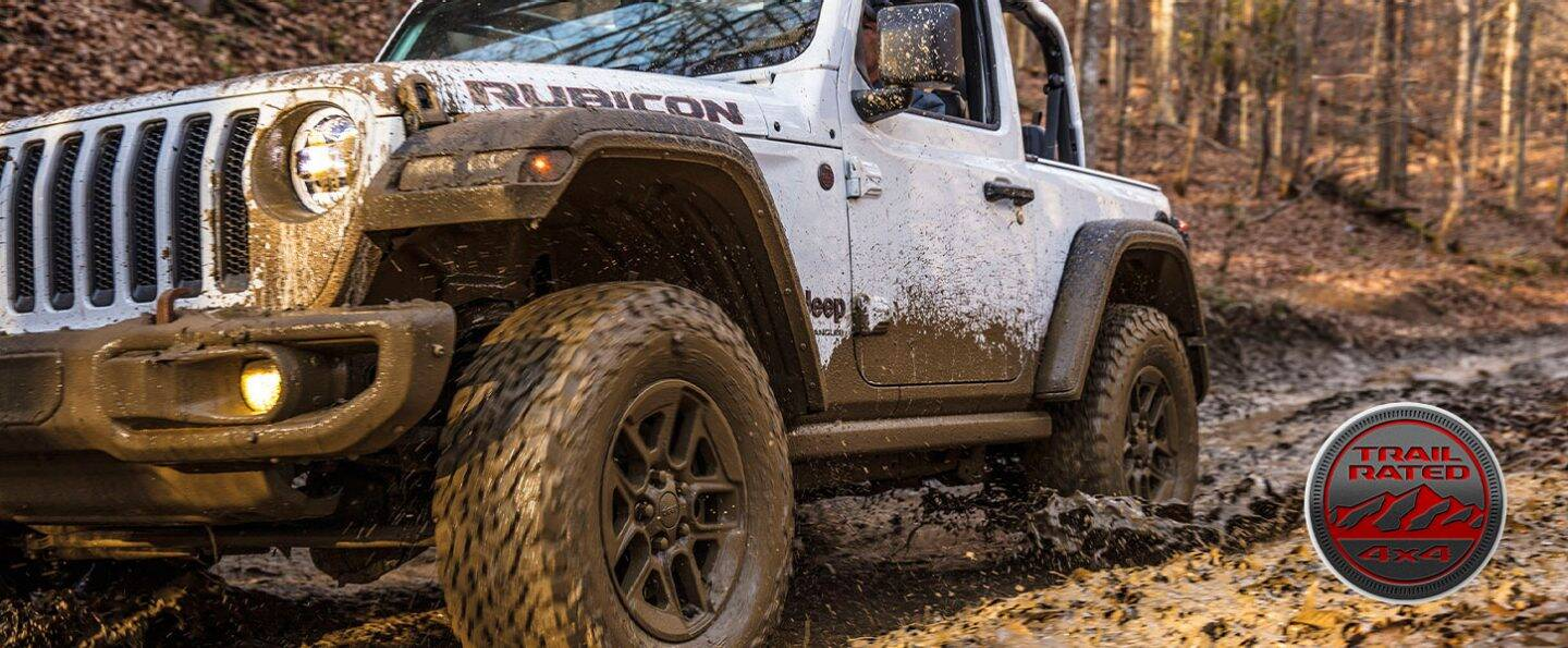 Jeep modes for mudding